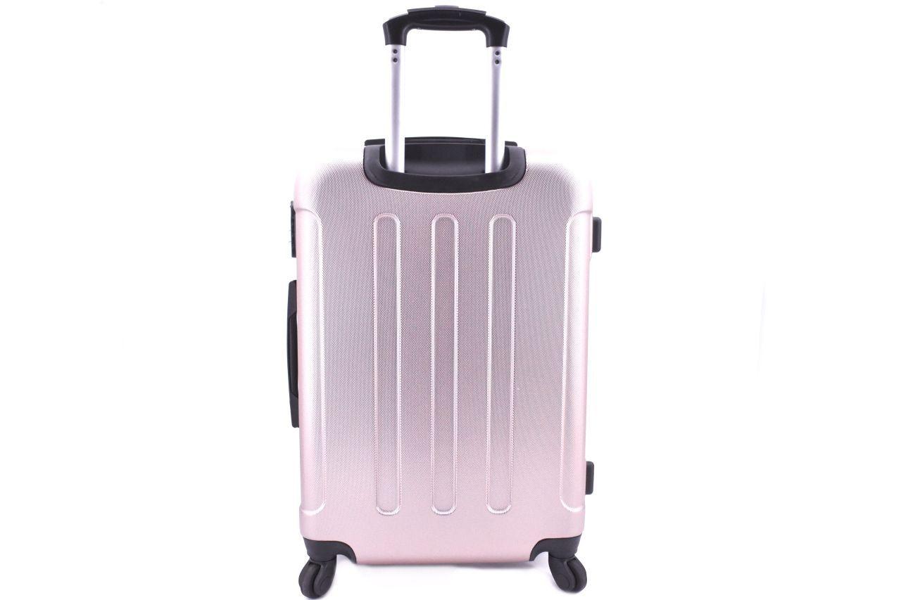 Cestovní palubní skořepinový kufr na čtyřech kolečkách Arteddy (XS) 30l - červená 6016 (XS)