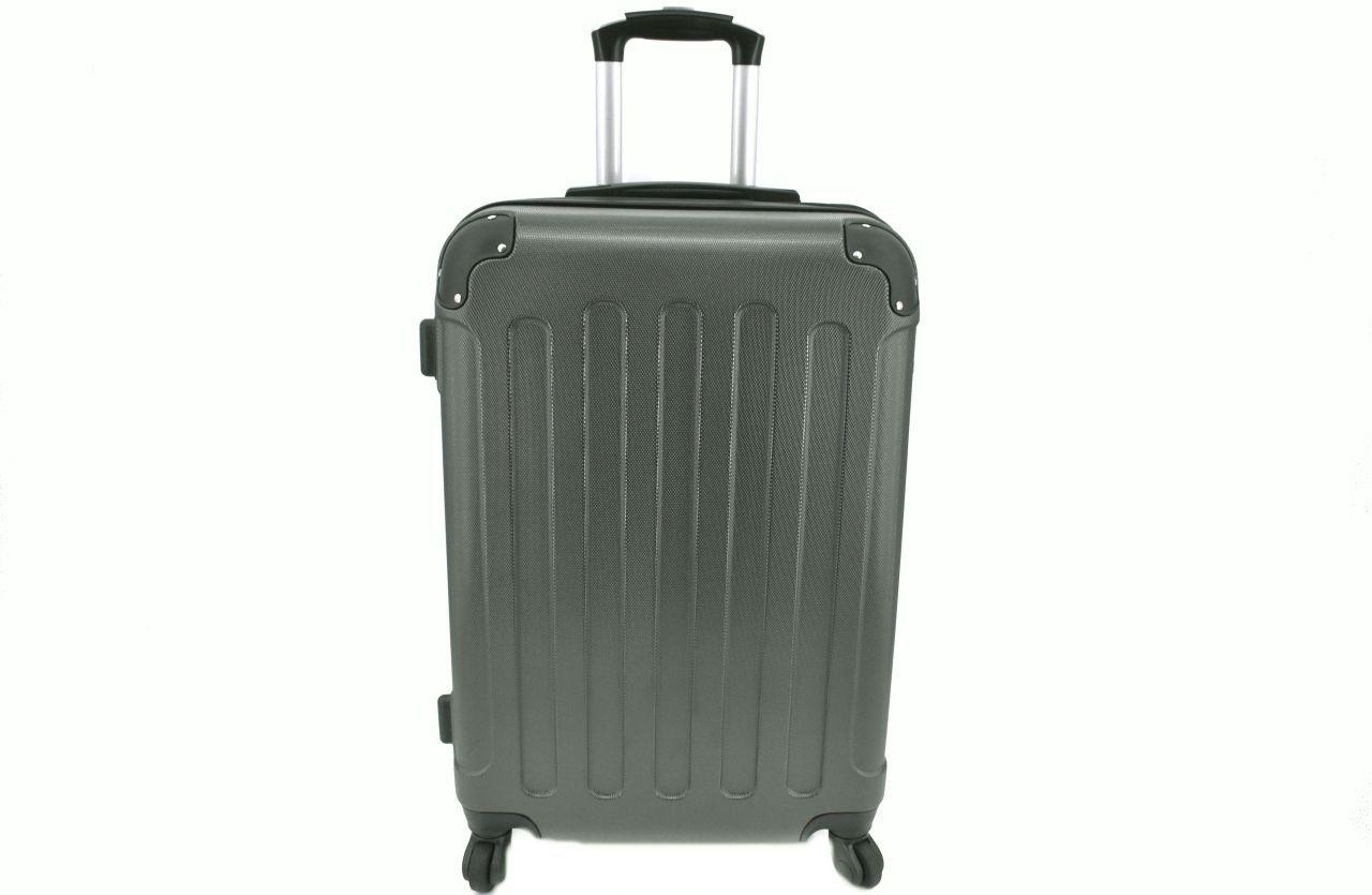 Cestovní palubní skořepinový kufr na čtyřech kolečkách Arteddy (XS) 30l - tmavě šedá 6016 (XS)
