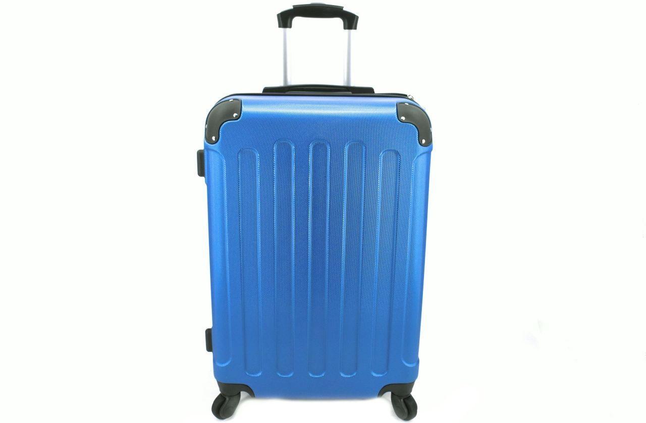 Cestovní palubní skořepinový kufr na čtyřech kolečkách Arteddy (XS) 30l - modrá 6016 (XS)