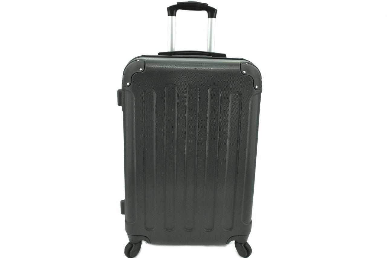 Cestovní palubní skořepinový kufr na čtyřech kolečkách Arteddy (XS) 30l - černá 6016 (XS)