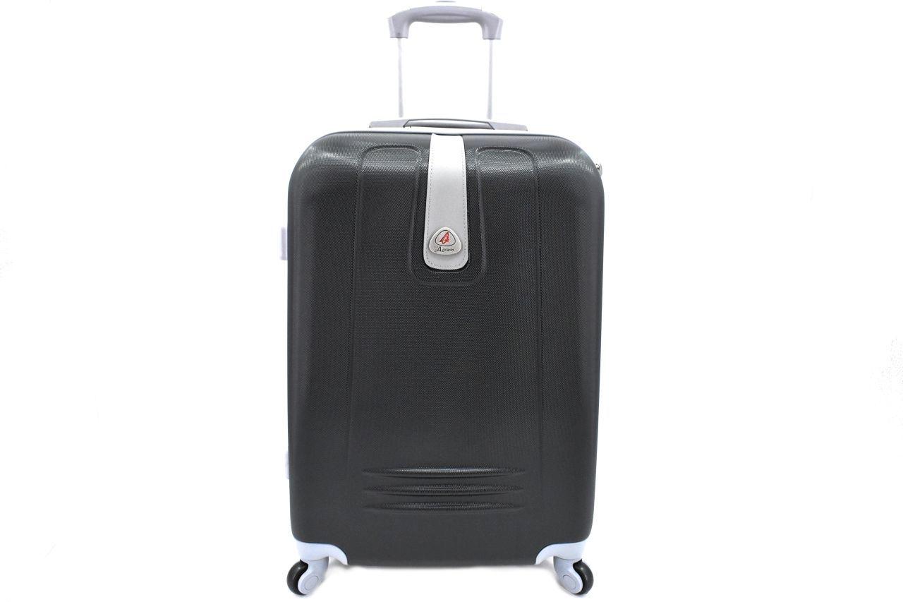Cestovní kufr Agrado / 4 kolečka - černá (L) 90l 6168 (L)