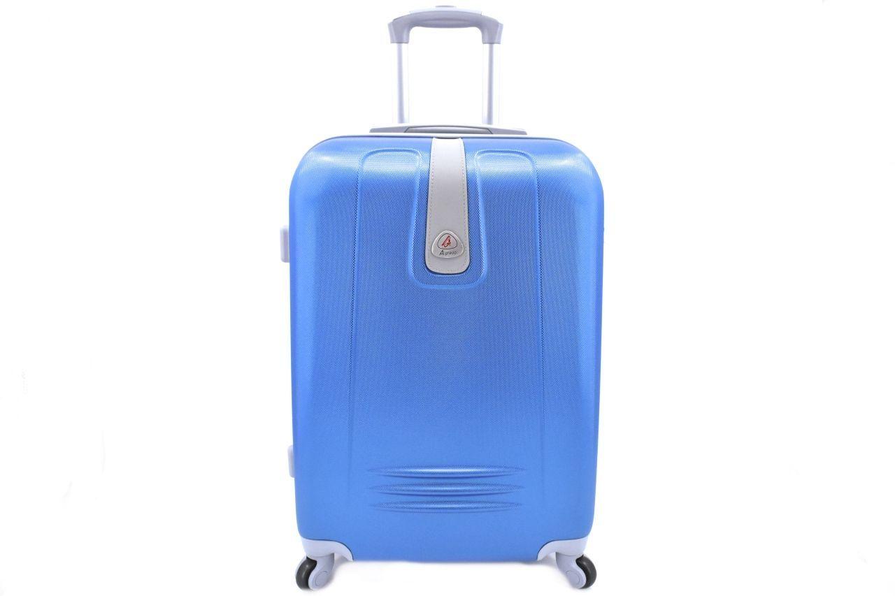 Cestovní kufr Agrado / 4 kolečka - modrá (L) 90l 6168 (L)