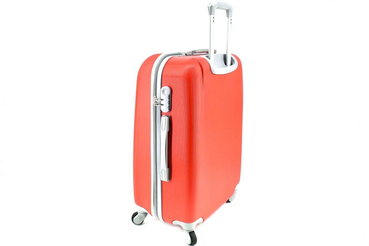 Cestovní palubní kufr Agrado / 4 kolečka - černá (XS) 30l 6168 (XS)