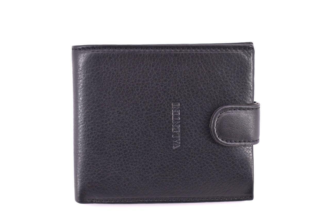 Pánská kožená peněženka Valentini - černá 32601