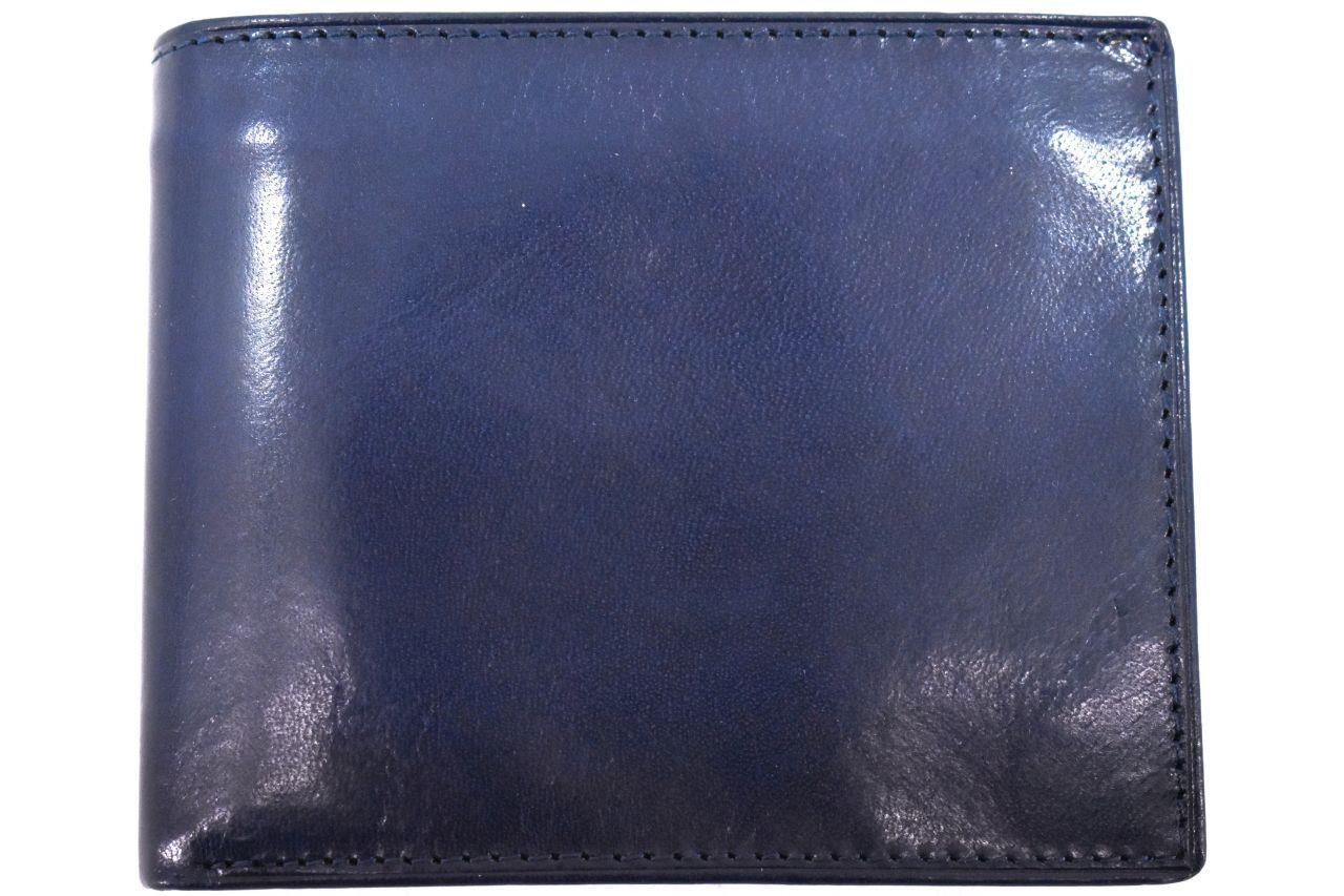 Pánská kožená peněženka Arteddy - modrá 30249