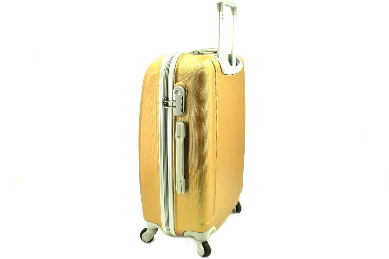 Cestovní palubní kufr skořepinový na čtyřech kolečkách Agrado (XS) 30l - černá 6011(XS)