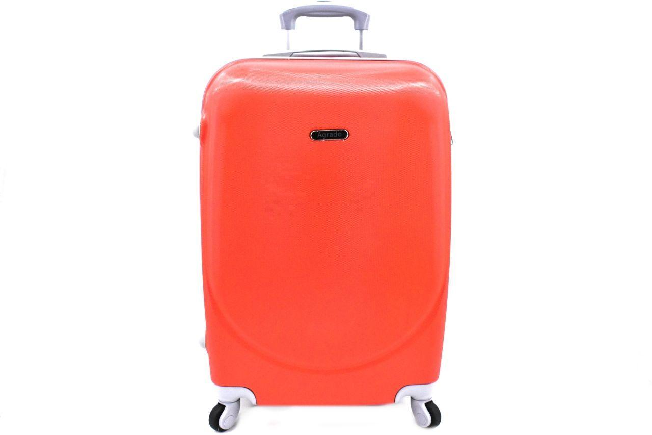 Cestovní palubní kufr skořepinový na čtyřech kolečkách Agrado (XS) 30l - červená 6011(XS)
