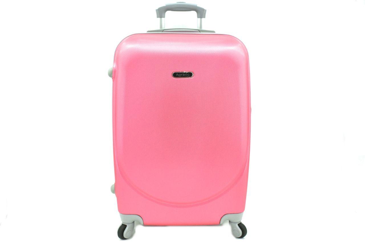 Cestovní palubní kufr skořepinový na čtyřech kolečkách Agrado (XS) 30l - růžová 6011(XS)