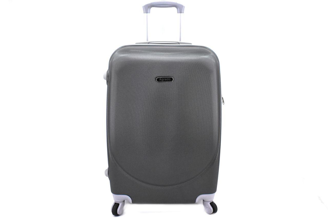 Cestovní palubní kufr skořepinový na čtyřech kolečkách Agrado (XS) 30l - tmavě šedá 6011(XS)