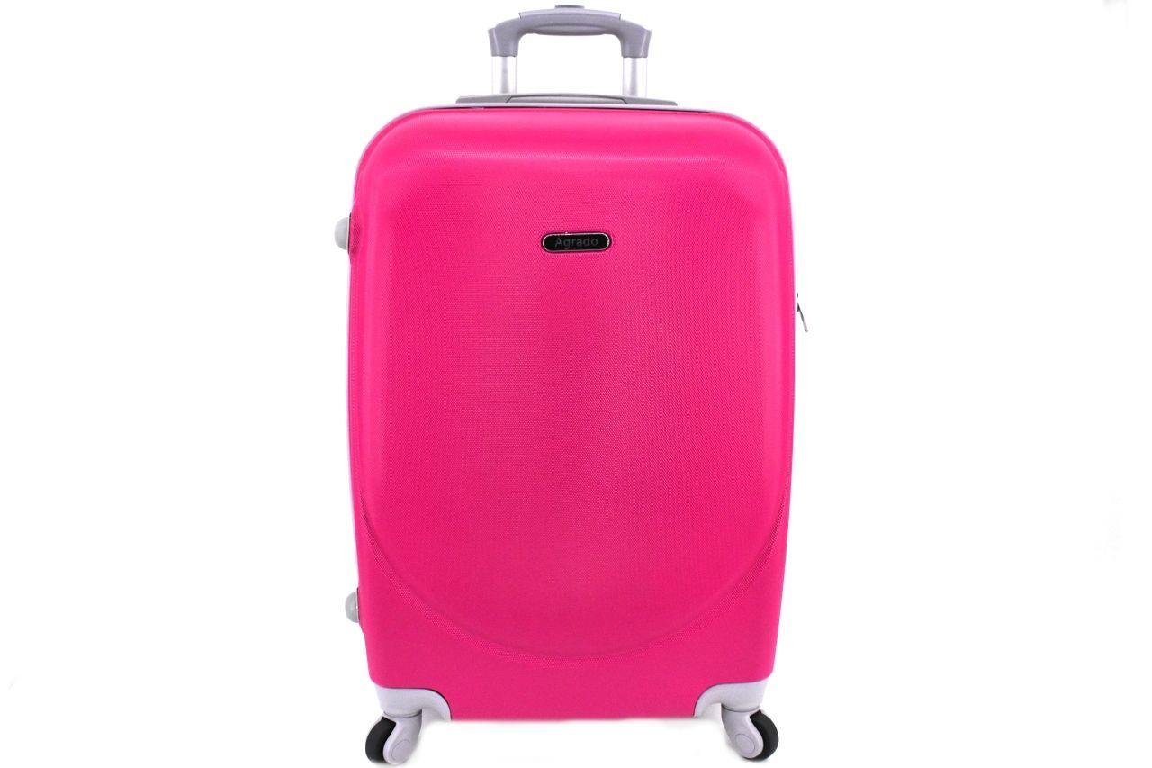 Cestovní palubní kufr skořepinový na čtyřech kolečkách Agrado (XS) 30l - fuxia 6011(XS)