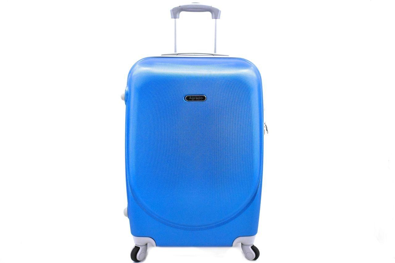 Cestovní palubní kufr skořepinový na čtyřech kolečkách Agrado (XS) 30l - modrá 6011(XS)