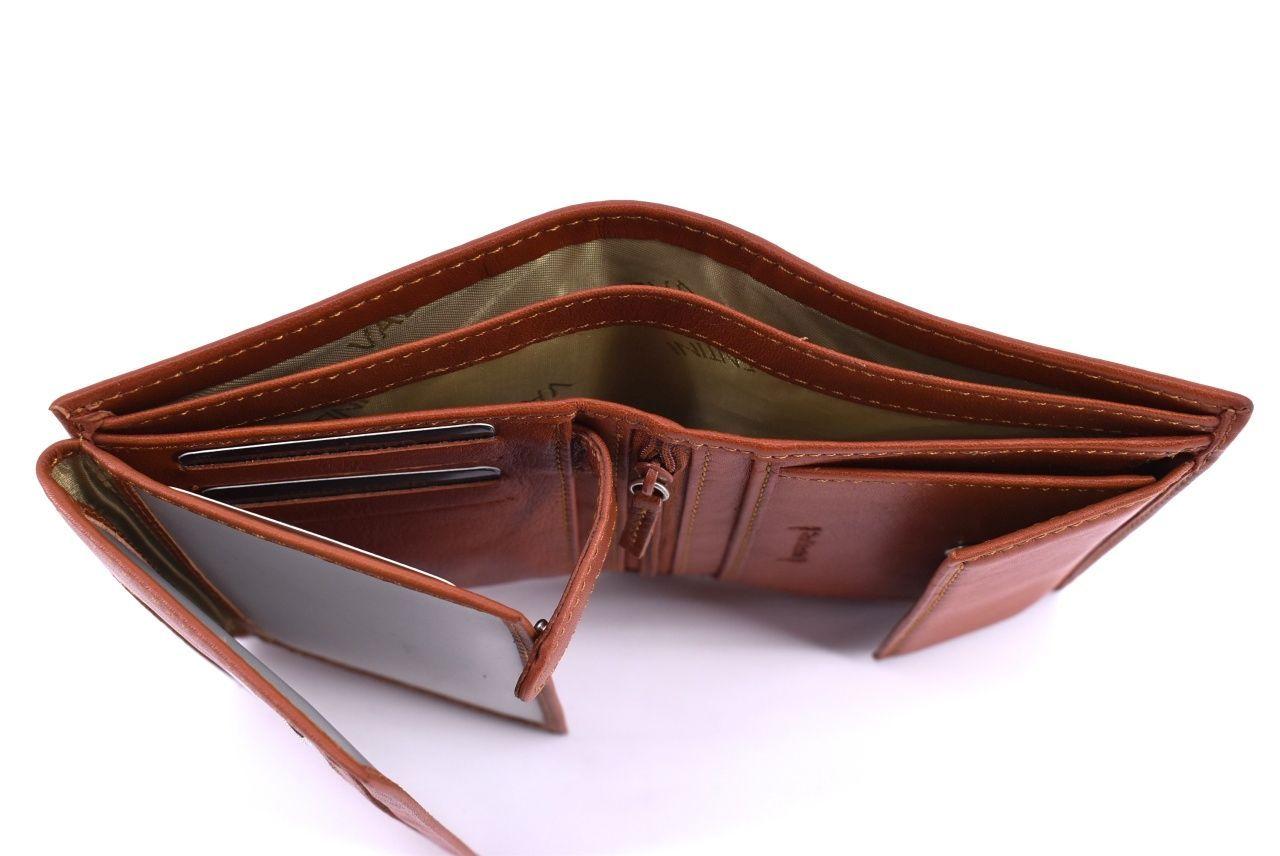 Pánská kožená peněženka Valentini - černá 34810