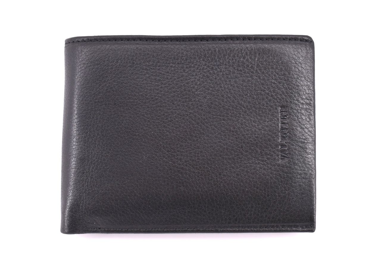 Pánská kožená peněženka Valentini - černá 39520