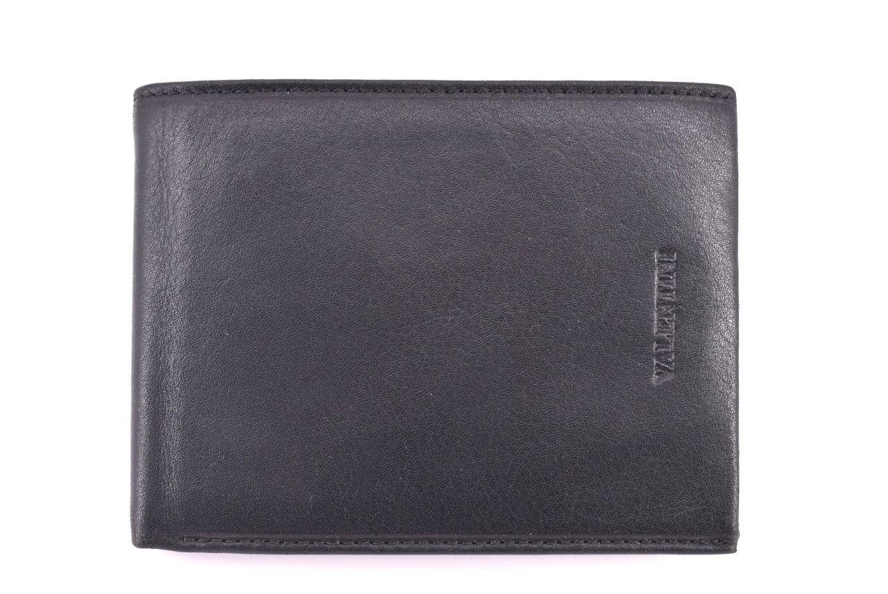 Pánská kožená peněženka Valentini - černá 33272