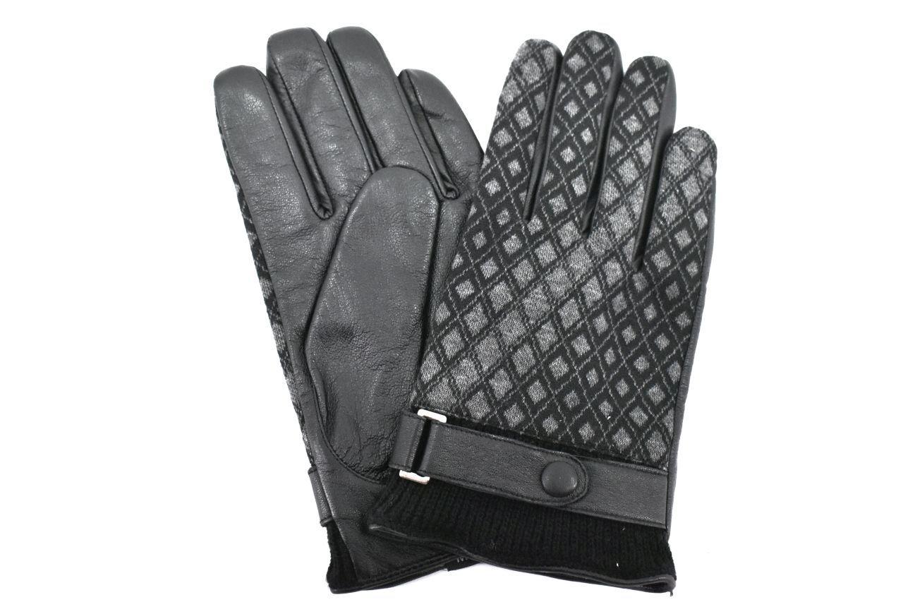 Dámské kožené rukavice Arteddy - černá