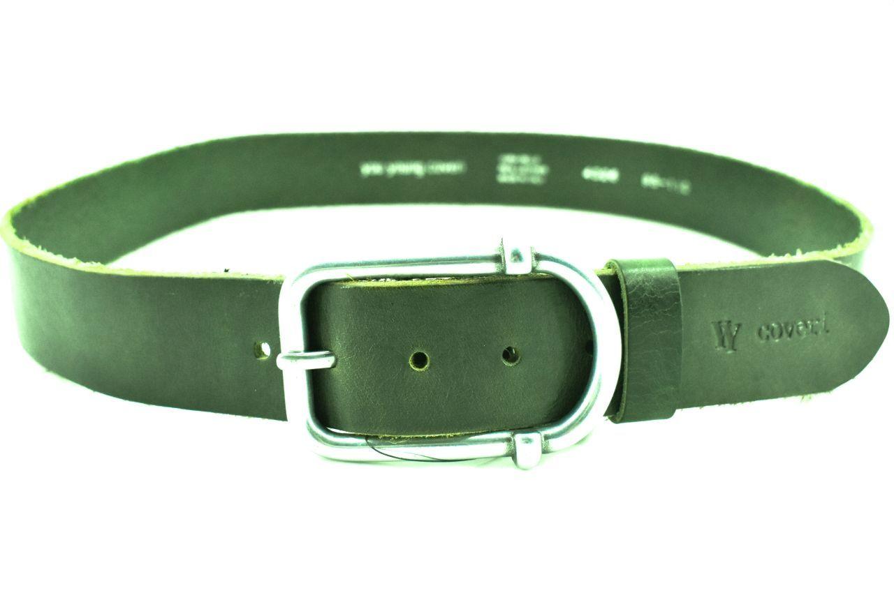 Kožený opasek Coveri - tmavě zelená 115 4326