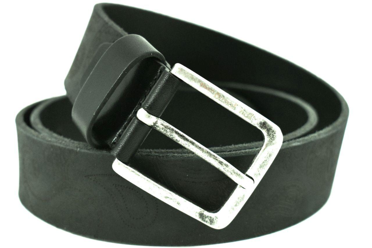 Kožený opasek Coveri - černá 95 4325