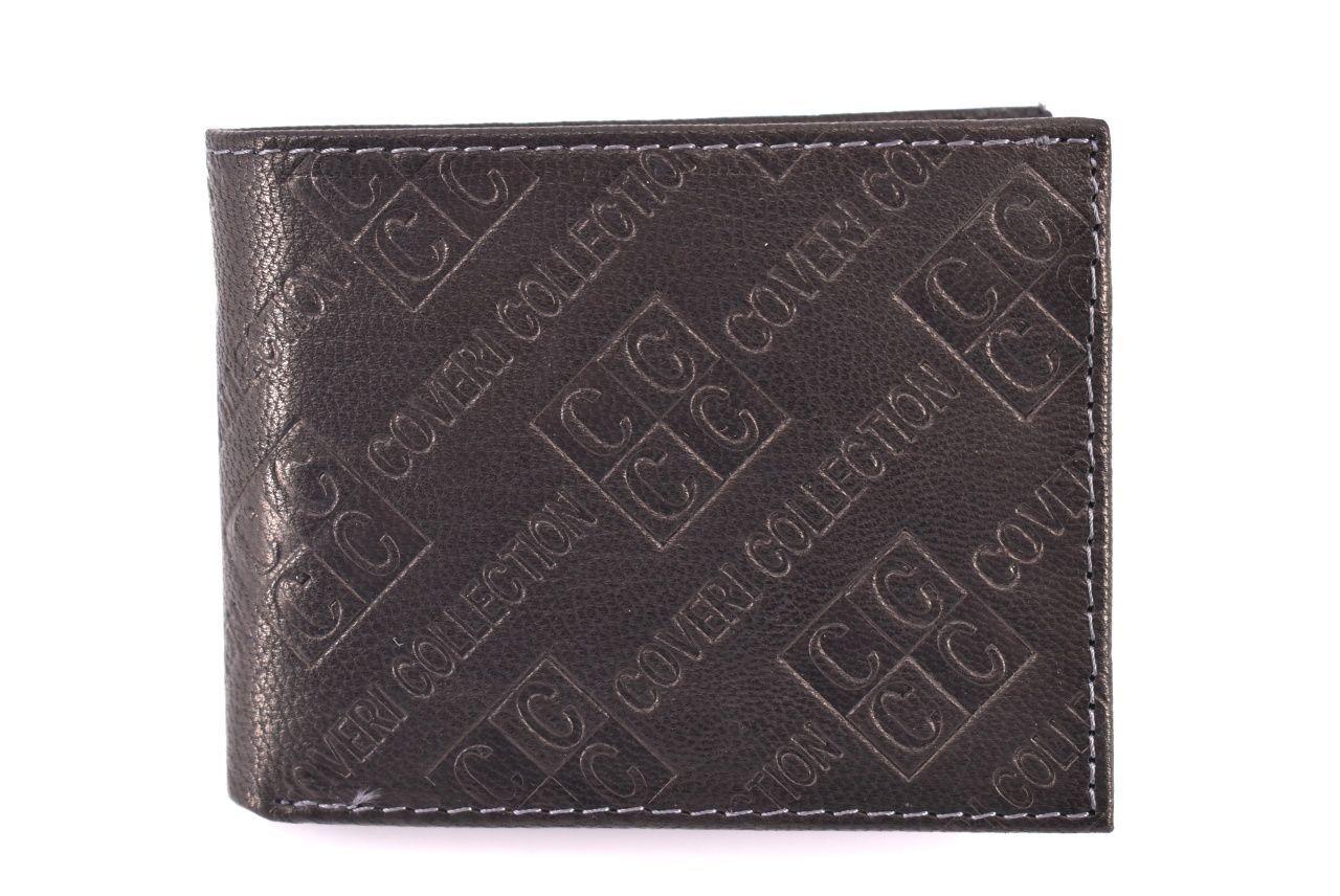 Pánská kožená peněženka Coveri Collection - černá 31747