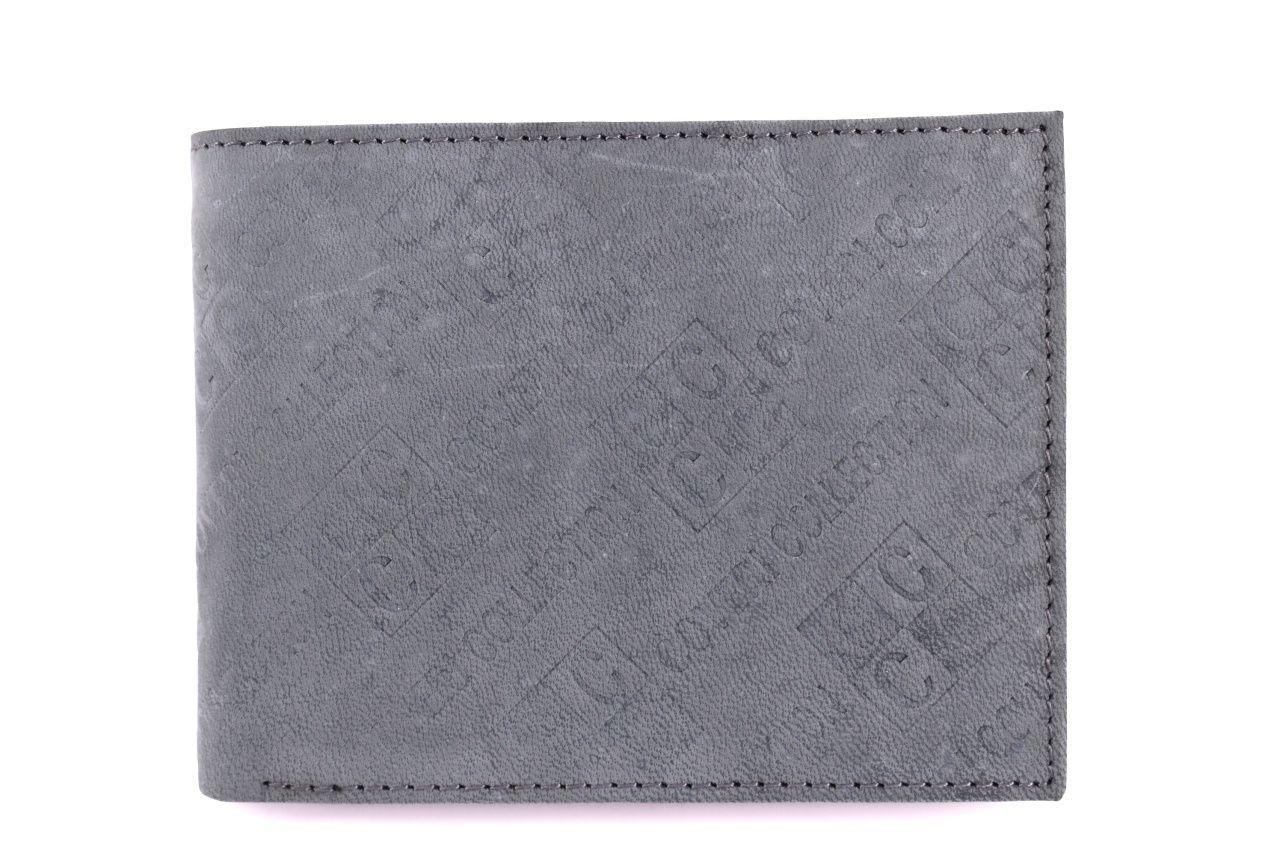 Pánská kožená peněženka Coveri Collection - šedá 31755
