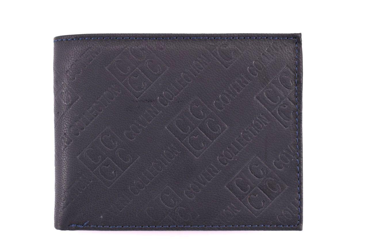 Pánská kožená peněženka Coveri Collection - tmavě modrá 31755