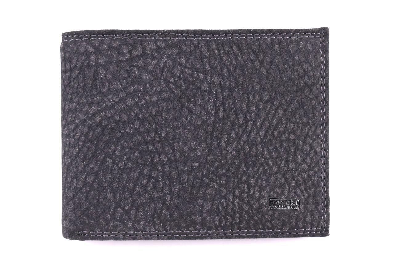 Pánská kožená peněženka Coveri Collection - černá 32613