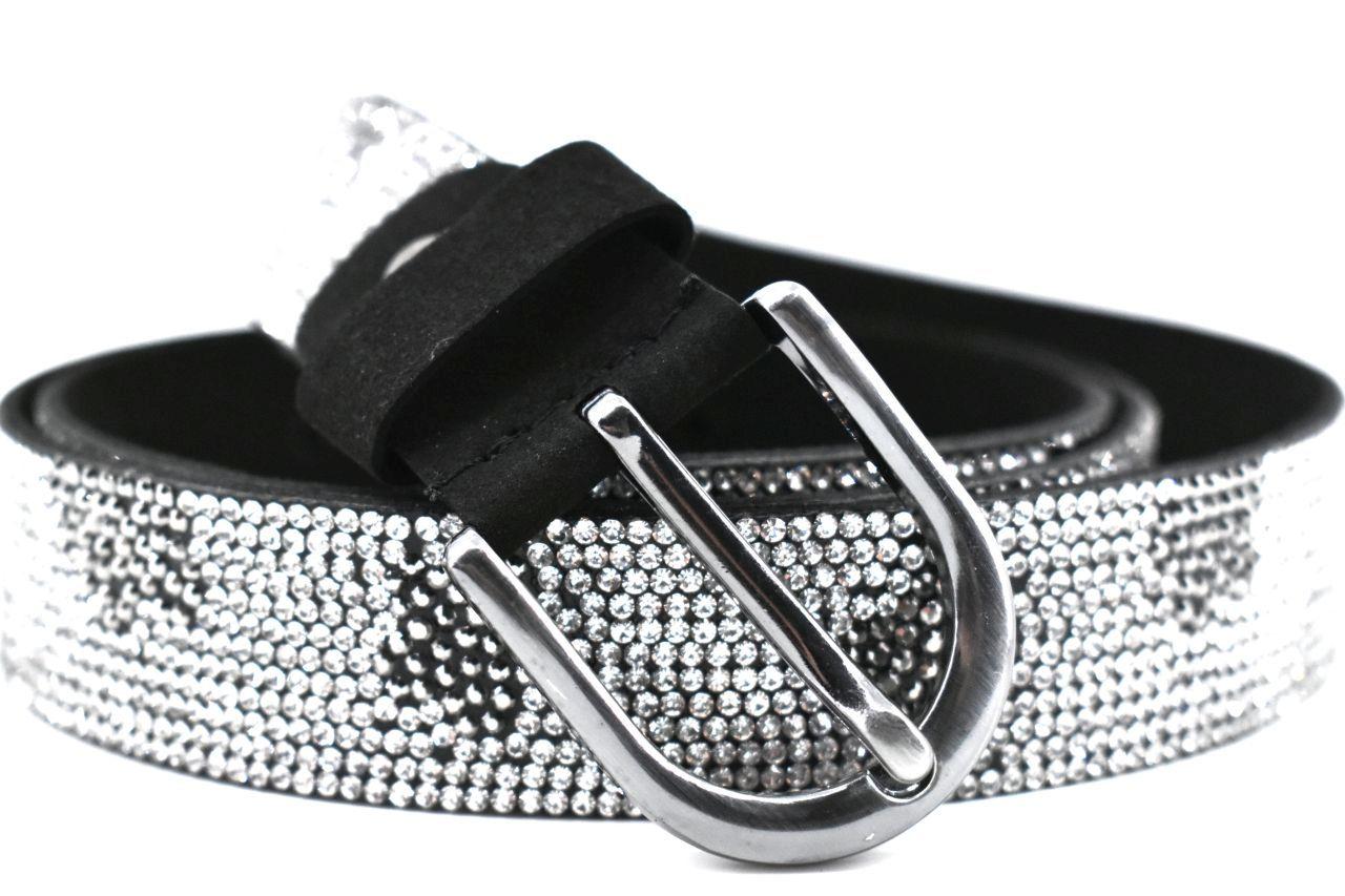 Dámský/dívčí štrasový opasek Arteddy - stříbrná/95 37106
