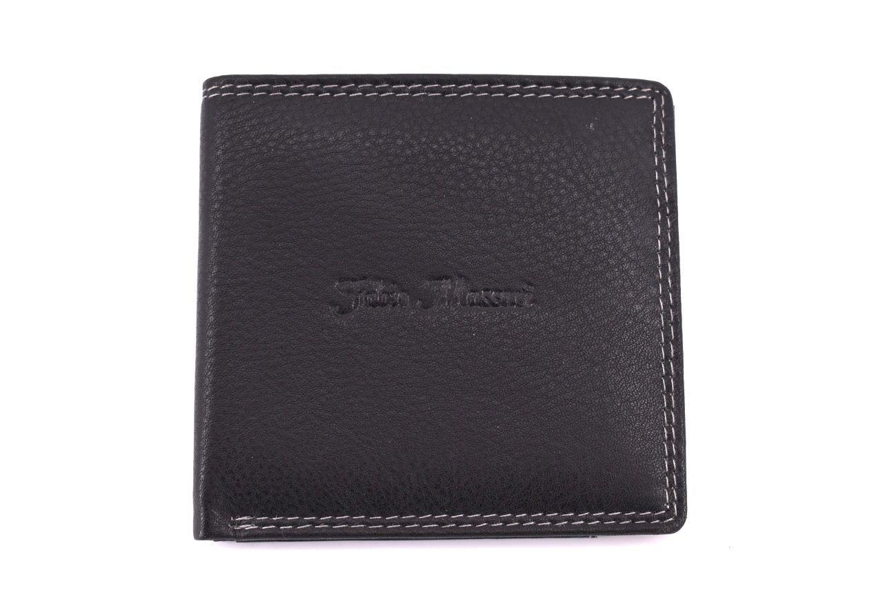 Pánská kožená peněženka Fabio Massari - černá