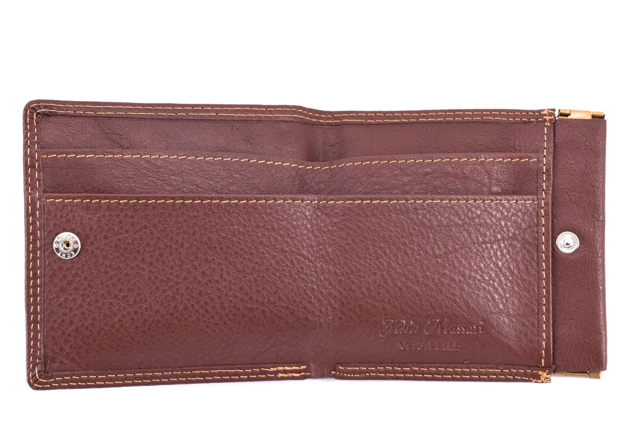 Pánská kožená peněženka Fabio Massari - černá 32128