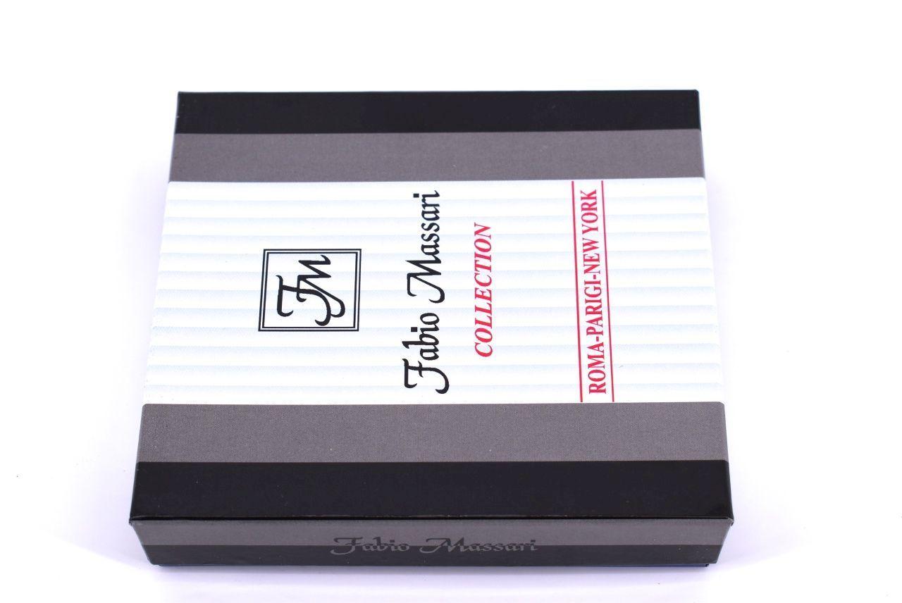 Pánská kožená peněženka Fabio Massari - hnědá 32128
