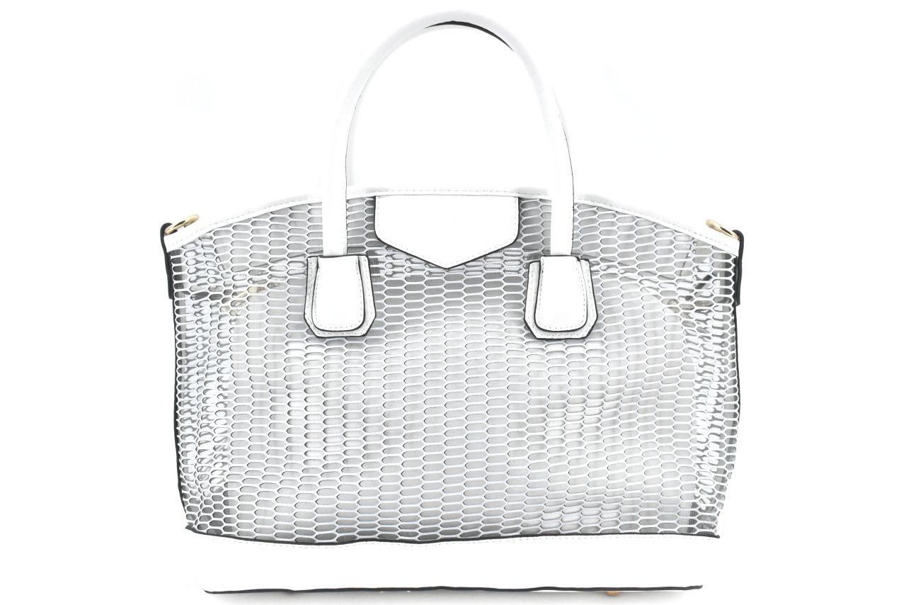 Dámská/dívčí kabelka - bílá 32045