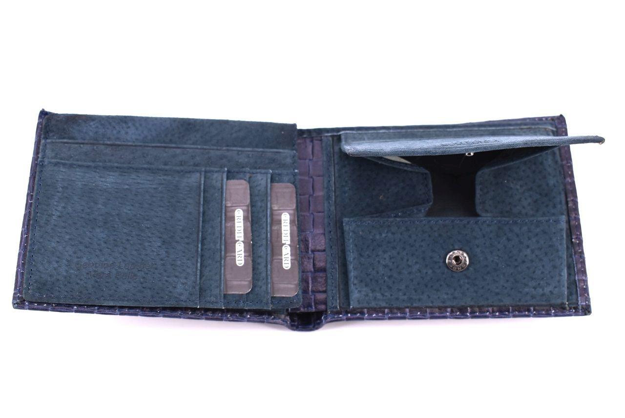 Pánská kožená peněženka Coveri Collection - zelená 32150