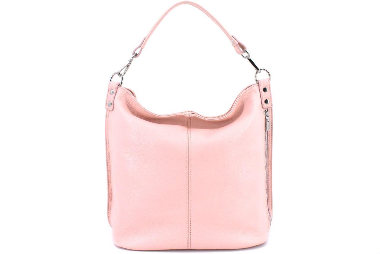 Dámská kožená kabelka Arteddy - růžová 36921