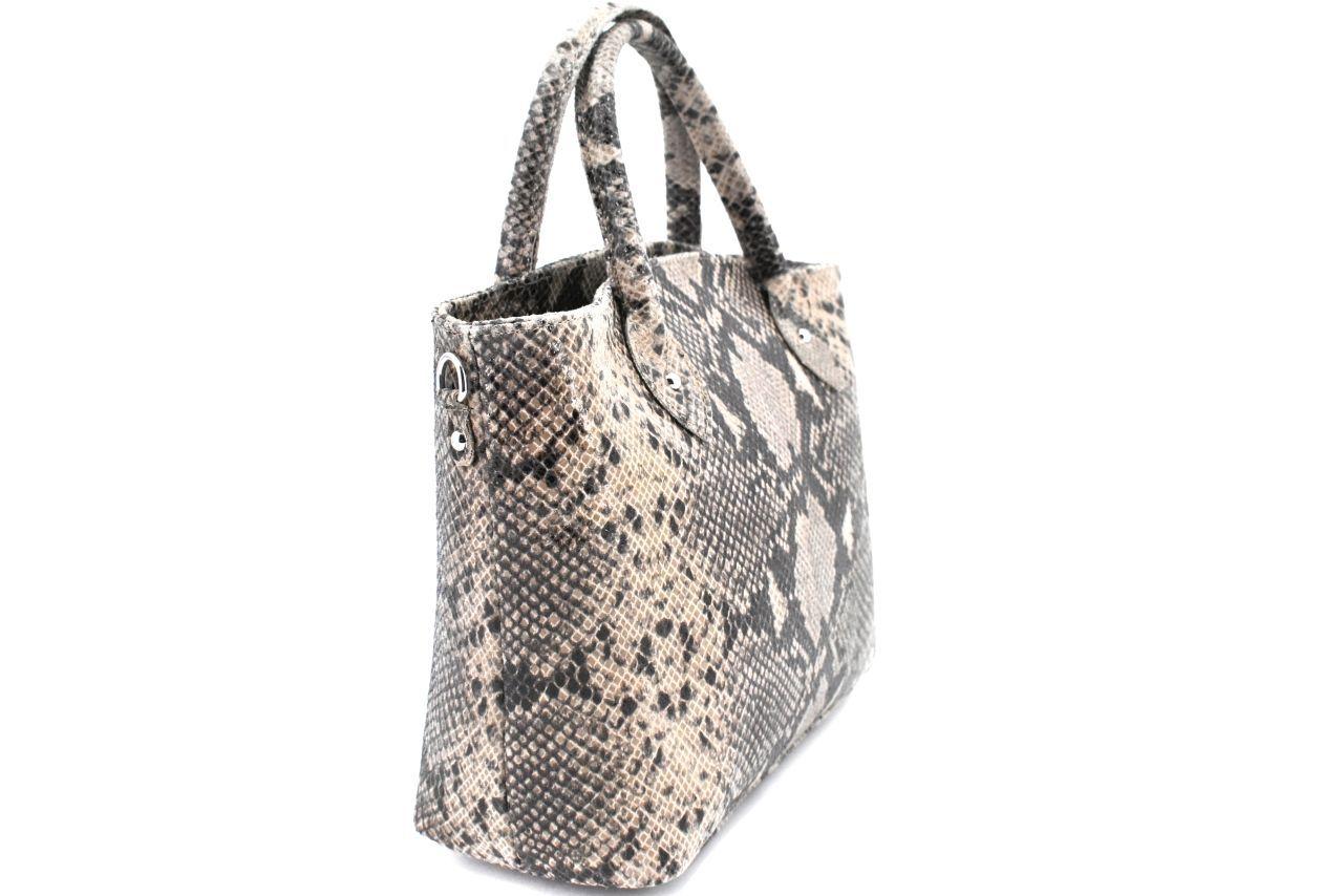 Dámská kožená kabelka Arteddy - bílá 39950