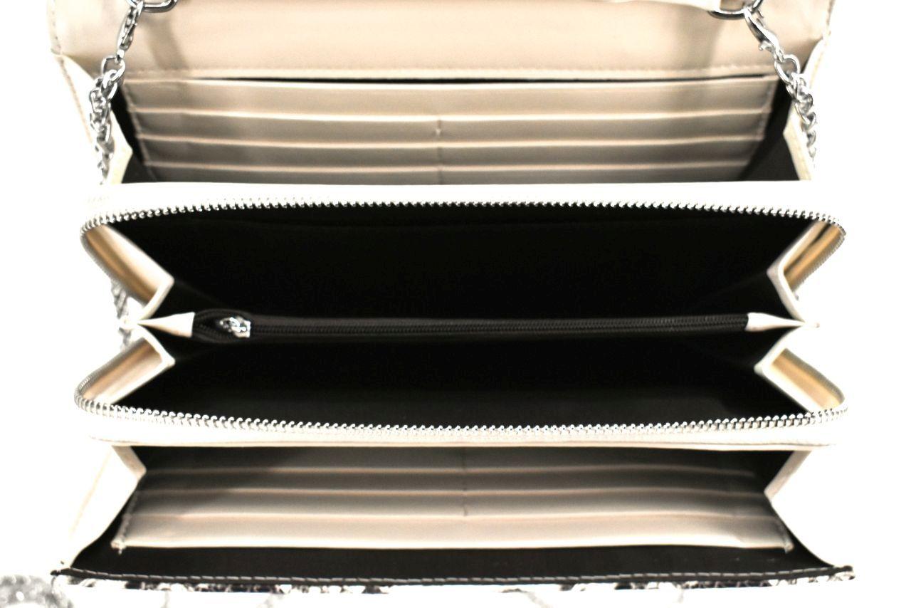 Elegantní kožená kabelka psaníčko Arteddy - žlutá 39953