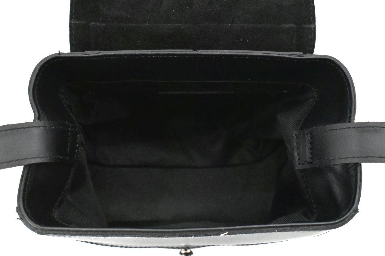 Dámská kožená kabelka Arteddy - šedá 39958