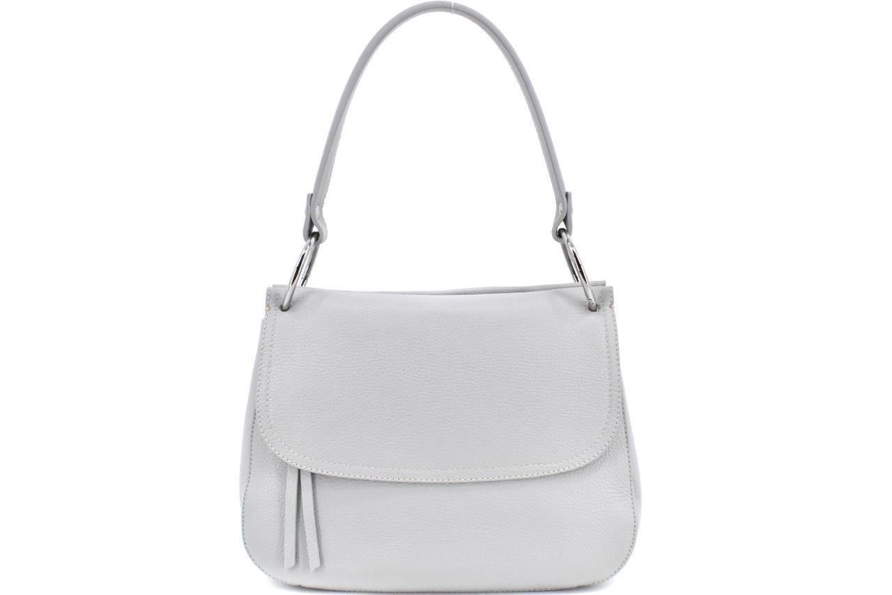 Dámská kožená kabelka Arteddy - šedá 39990