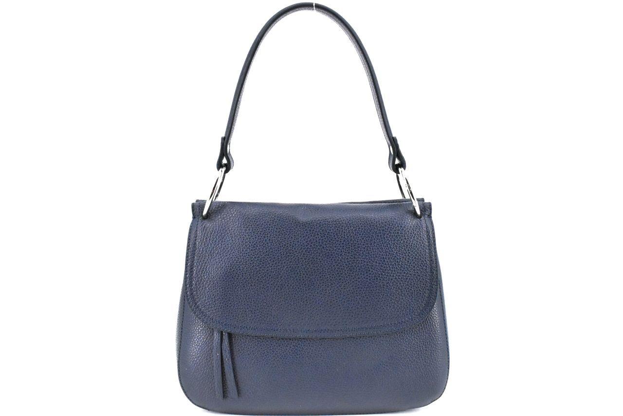 Dámská kožená kabelka Arteddy - tmavě modrá 39990