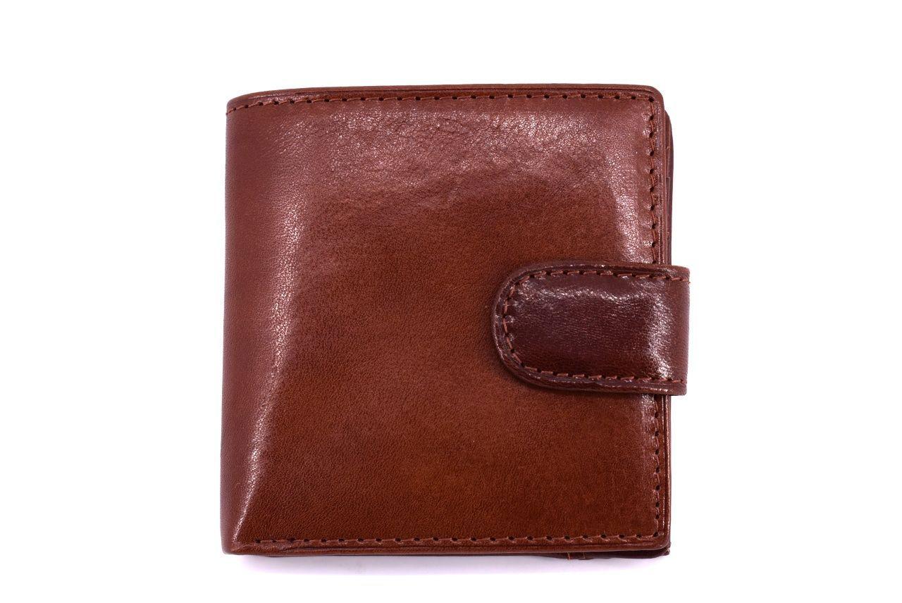Pánská kožená peněženka Arteddy - hnědá 11336