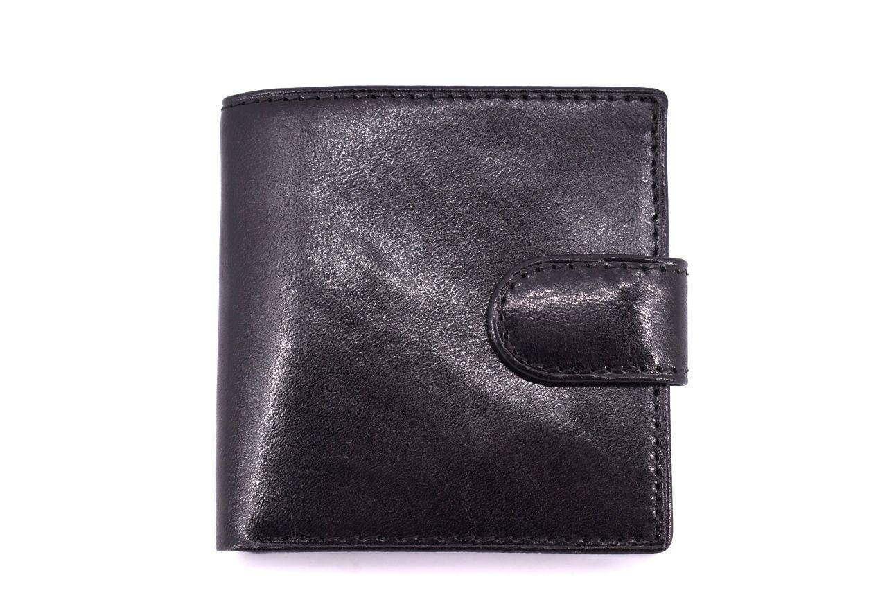 Pánská kožená peněženka Arteddy - černá 11336
