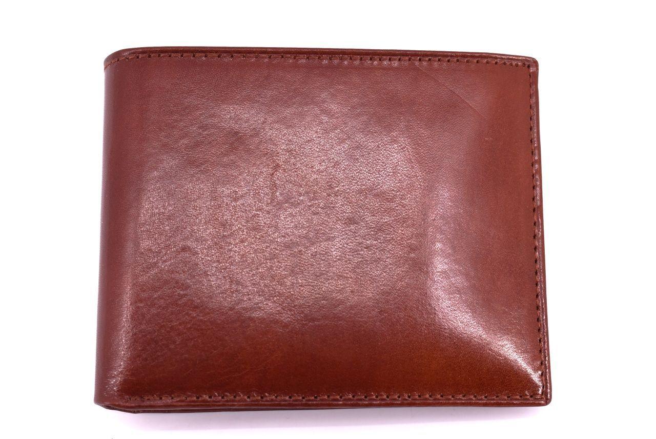Pánská kožená peněženka Arteddy - hnědá 30250