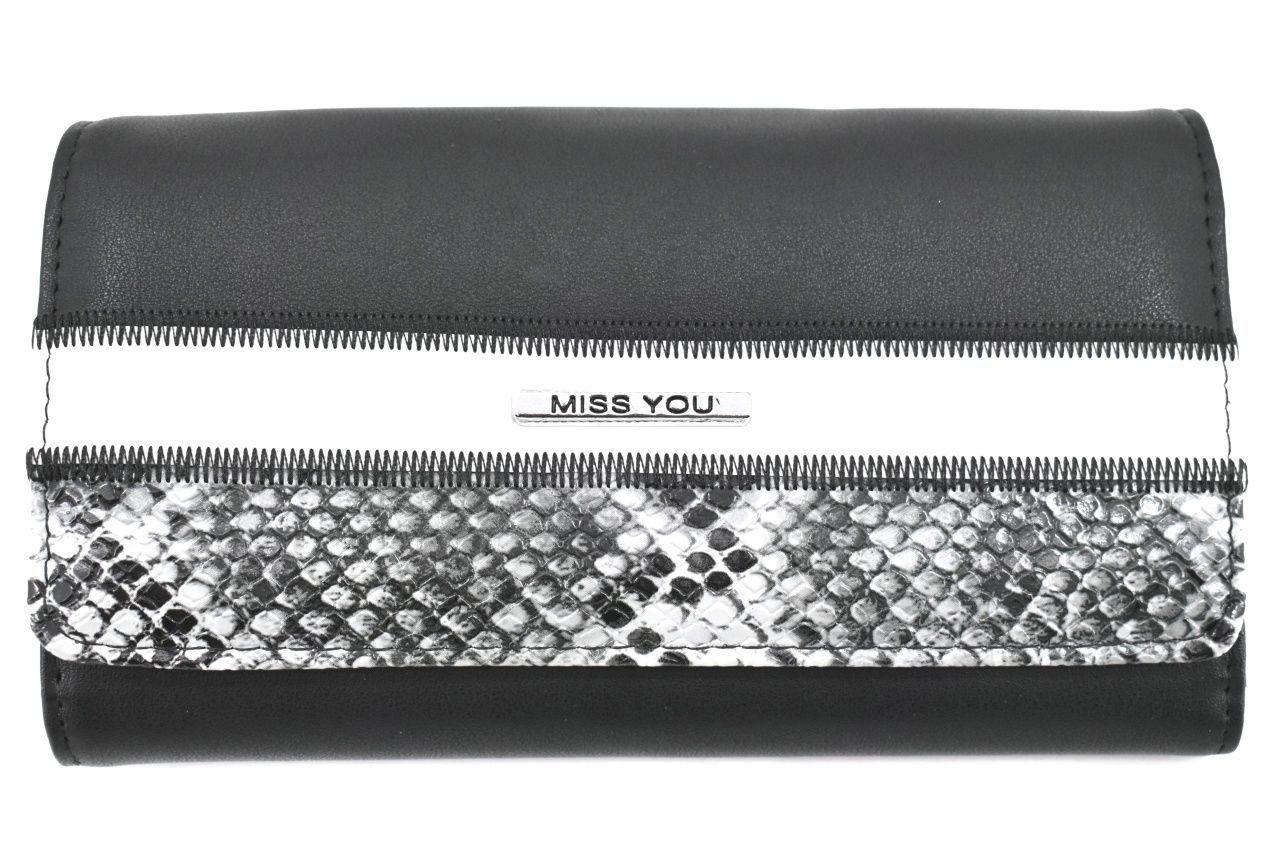 Dámská peněženka Miss You - černá 37177