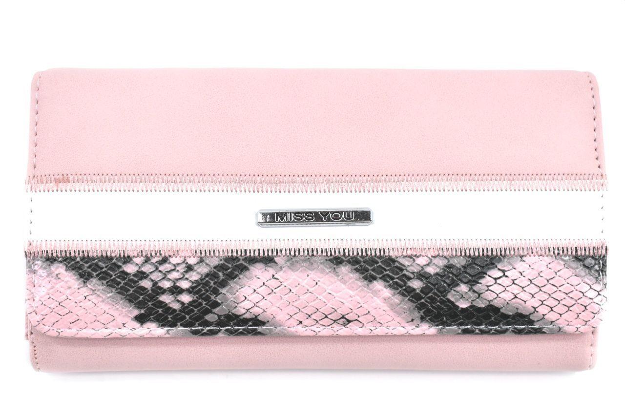 Dámská peněženka Miss You - růžová 37177