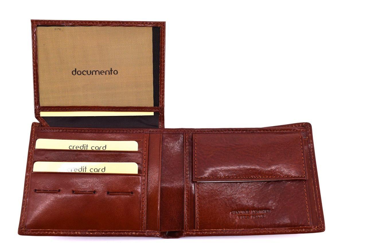 Pánská kožená peněženka Arteddy - černá 30250