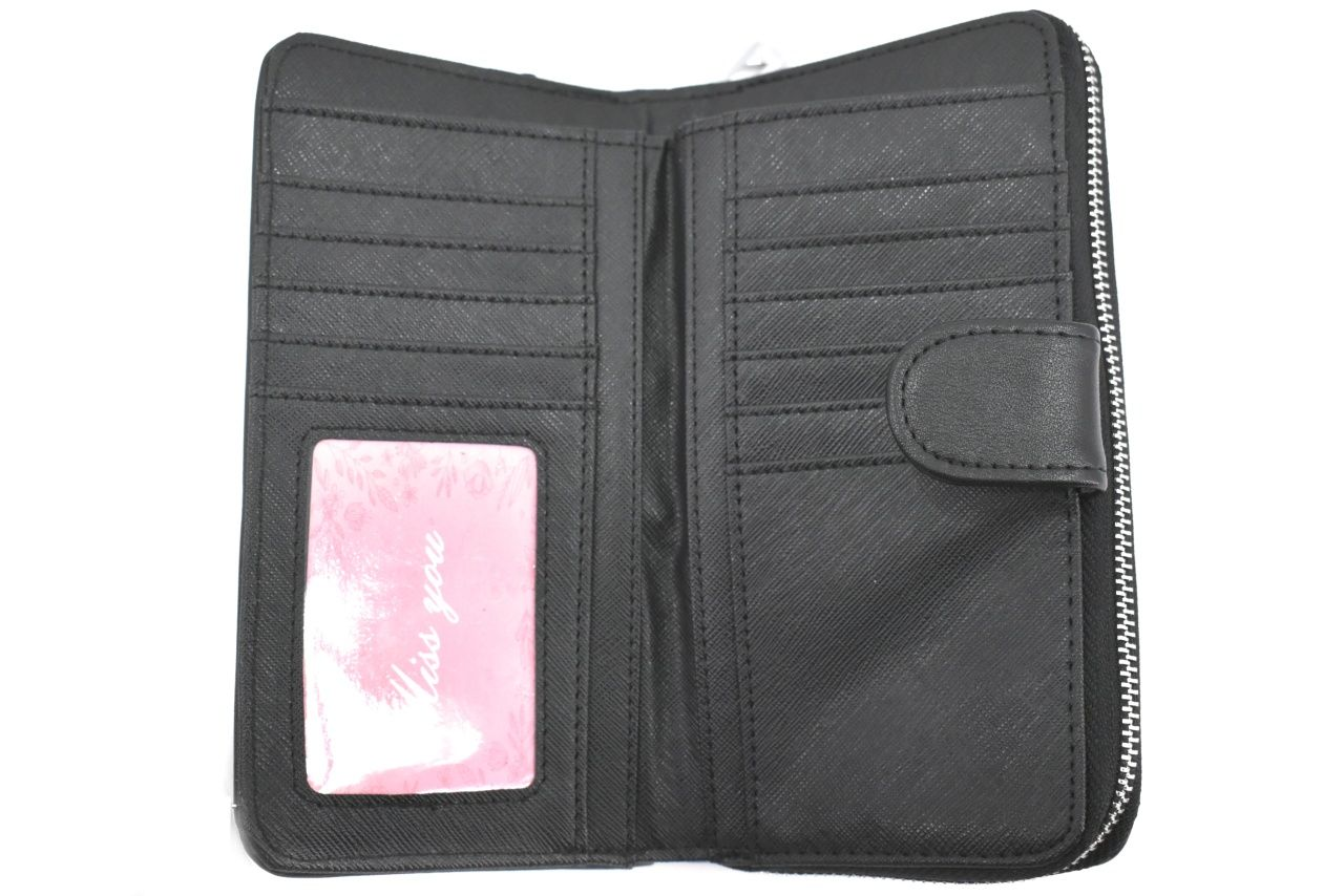 Dámská/dívčí peněženka pozdrového typu Miss You- červená 37178