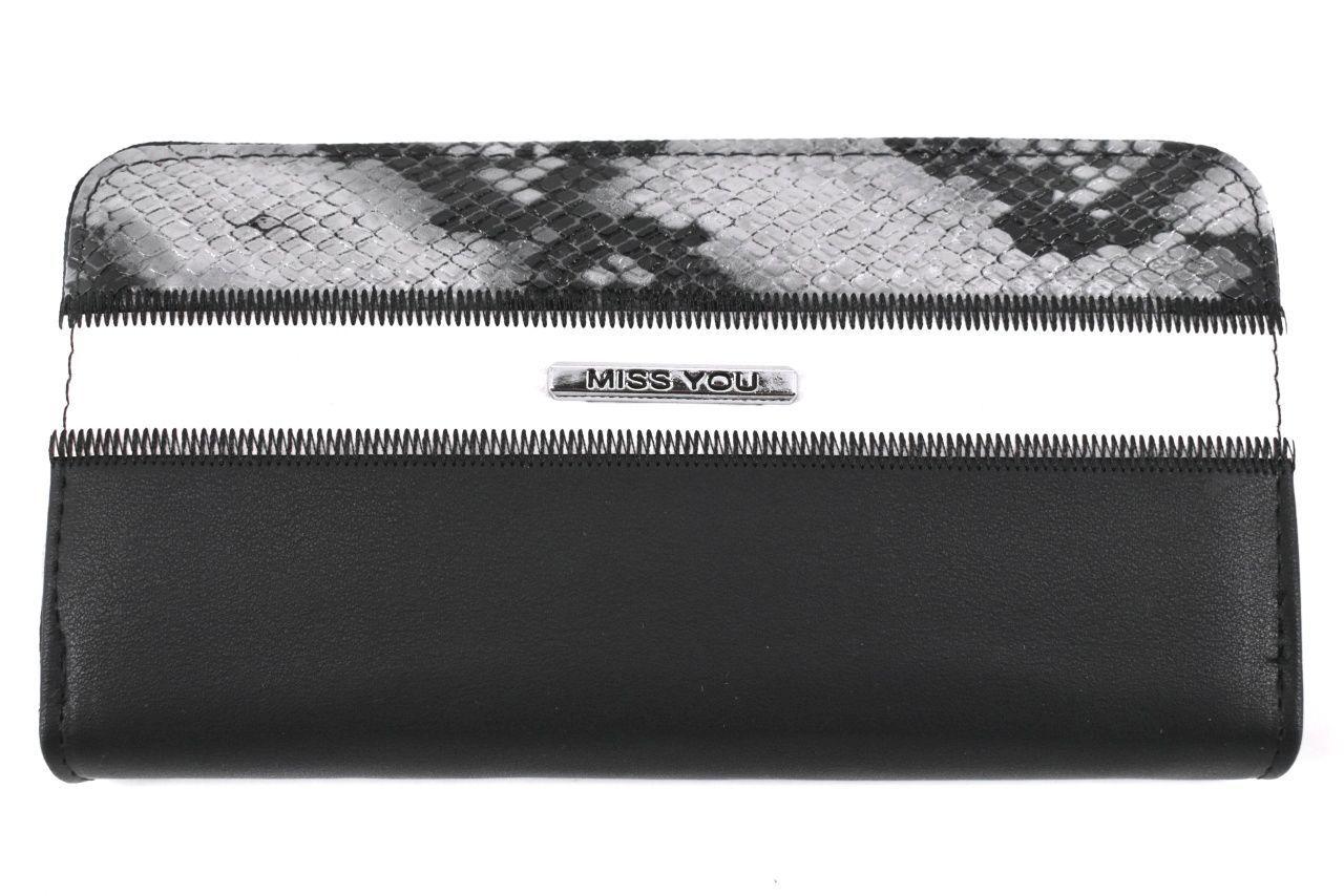 Dámská/dívčí peněženka pouzdrového typu Miss - černá 37180