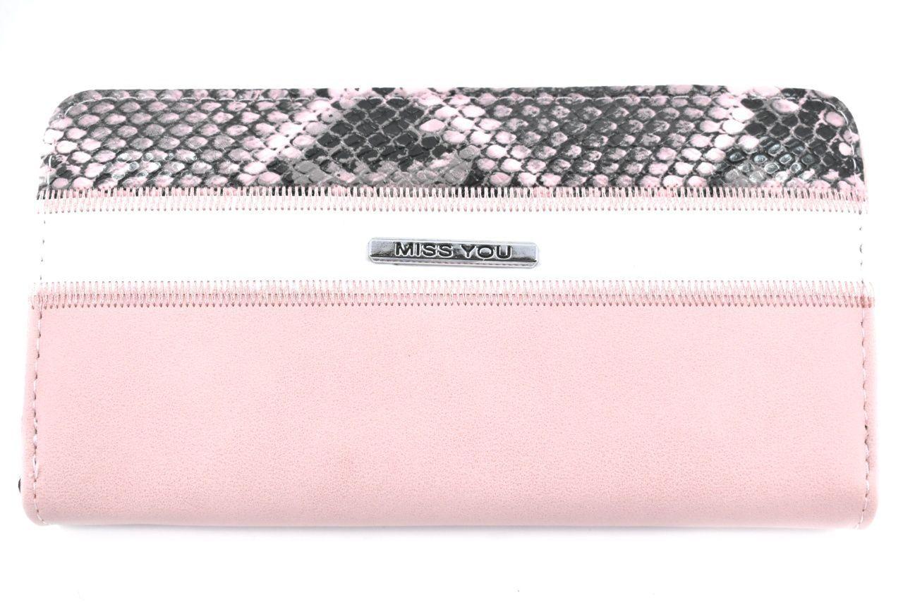 Dámská/dívčí peněženka pouzdrového typu Miss - růžová 37180