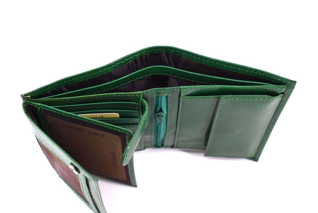 Pánská kožená peněženka Arteddy - camel 39804