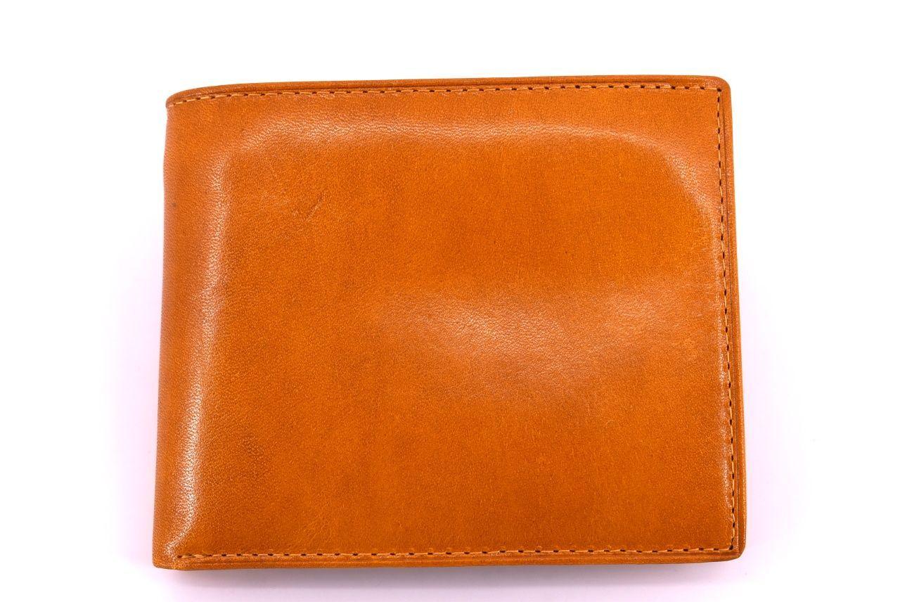 Pánská kožená peněženka Arteddy - žlutá 30249
