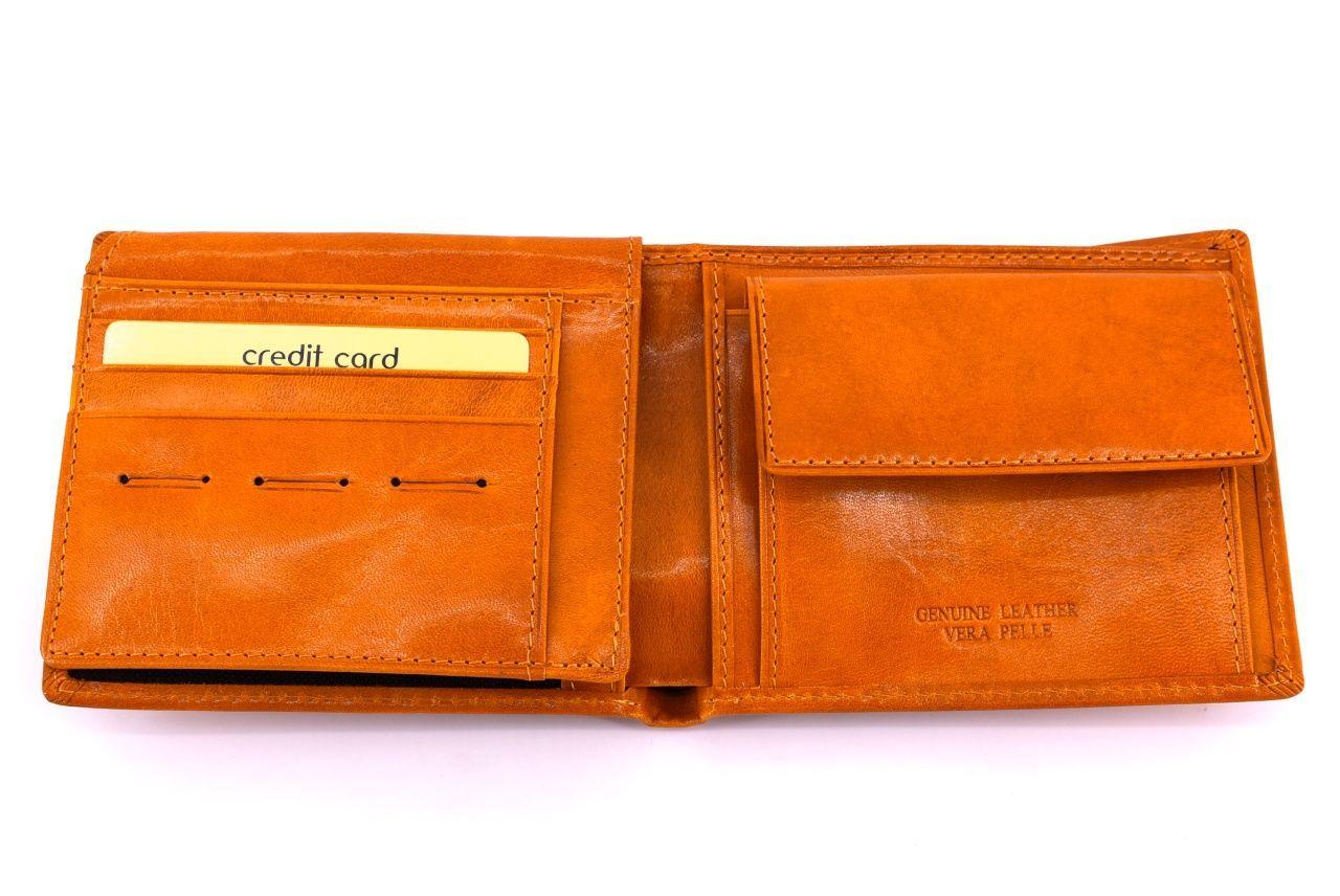 Pánská kožená peněženka Arteddy - černá 30249