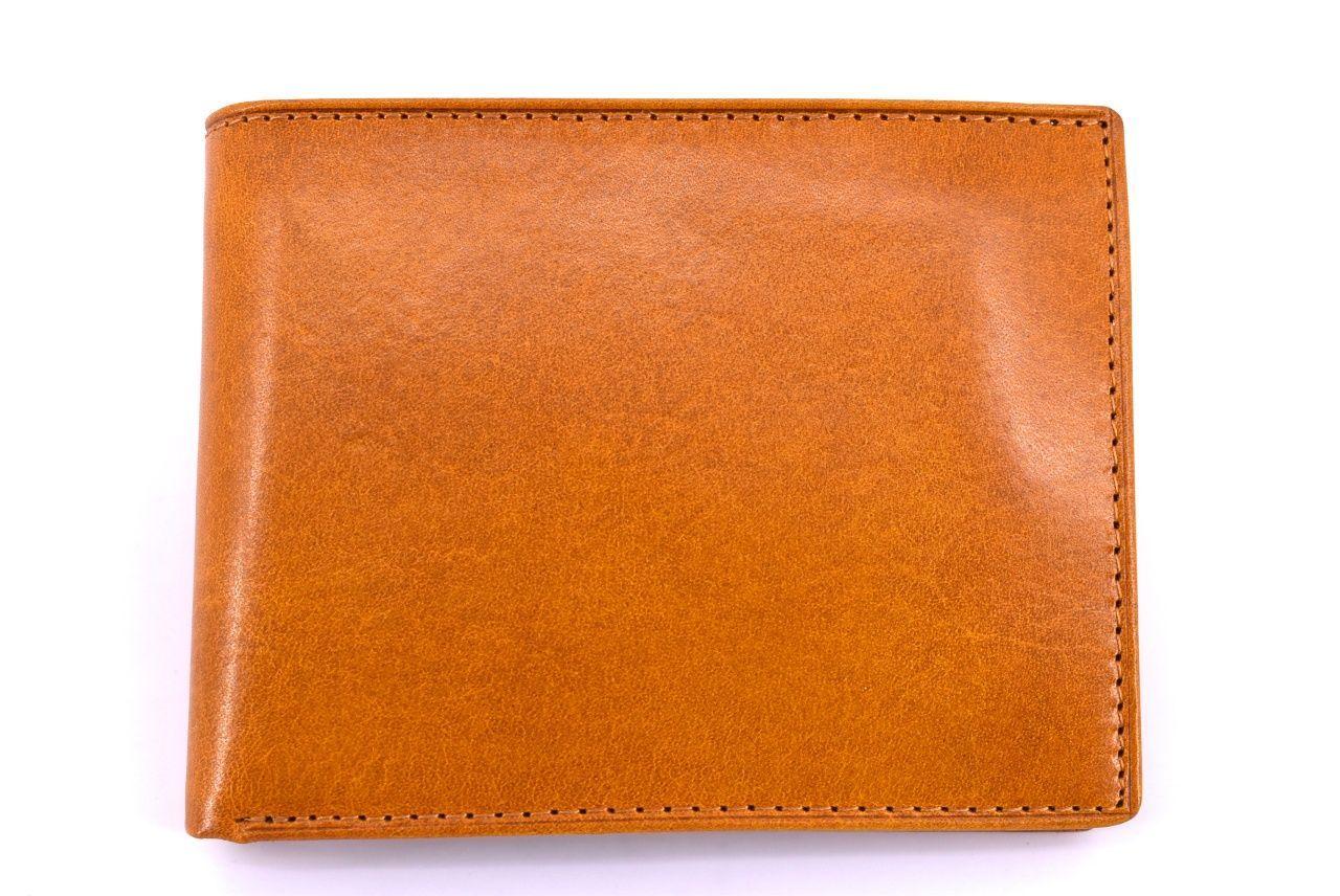 Pánská kožená peněženka Arteddy -camel